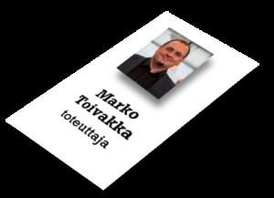 Marko Toivakka, mainonta ja markkinointi