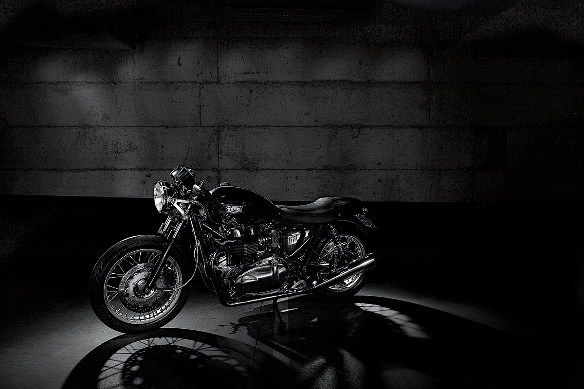Triumph moottoripyörä