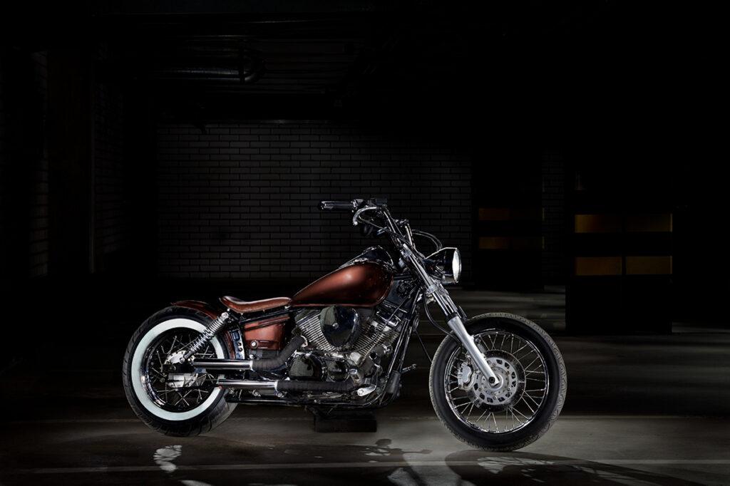 Yamaha moottoripyörä